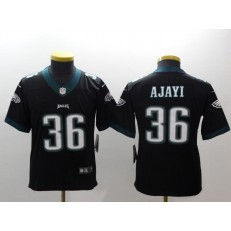 Youth Nike Philadelphia Eagles 36 Jay Ajayi Black Vapor Untouchable Limited NFL Jersey