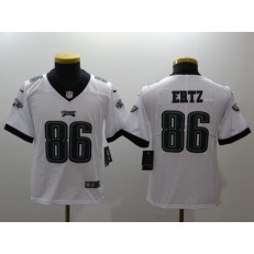 Youth Nike Philadelphia Eagles 86 Zach Ertz White Vapor Untouchable Limited NFL Jersey