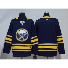 Adidas Buffalo Sabres Blank Navy Blue Home Authentic Stitched NHL Jersey
