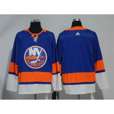 Adidas New York Islanders Blank Royal Blue Home Authentic Stitched NHL Jersey