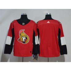 Adidas Ottawa Senators Blank Red Home Authentic Stitched NHL Jersey