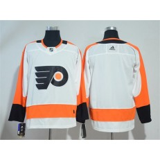Adidas Philadelphia Flyers Blank White Road Authentic Stitched NHL Jersey