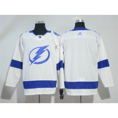 Adidas Tampa Bay Lightning Blank White Road Authentic Stitched NHL Jersey