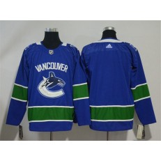 Adidas Vancouver Canucks Blank Blue Home Authentic Stitched NHL Jersey
