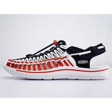 KEEN UNEEK FLAT-M DARK BLUE WHITE RED 10130878