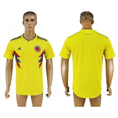 Colombia Home 2018 FIFA World Cup Thailand Soccer Jersey