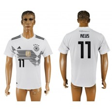 Germany 11 REUS Home 2018 FIFA World Cup Thailand Soccer Jersey
