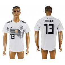 Germany 13 BALLACK Home 2018 FIFA World Cup Thailand Soccer Jersey