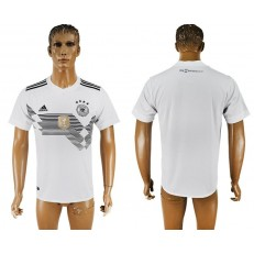Germany Home 2018 FIFA World Cup Thailand Soccer Jersey