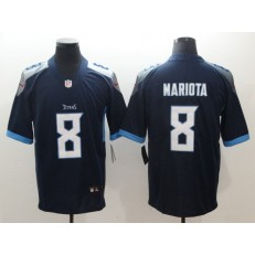 Tennessee Titans 8 Marcus Mariota Navy New 2018 Vapor Untouchable Limited Nike NFL Jersey