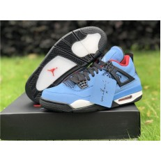 T S X AIR JORDAN 4 RETRO HOUSTON OILERS 308497-406