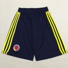 Colombia Home 2018 FIFA World Cup Thailand Soccer Shorts