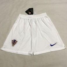 Croatia Home 2018 FIFA World Cup Thailand Soccer Shorts