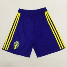 Sweden Home 2018 FIFA World Cup Thailand Soccer Shorts