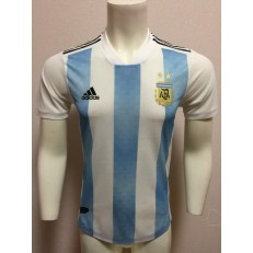 ARGENTINA HOME 2018 FIFA WORLD CUP PLAYER VERSION SOCCER JERSEY