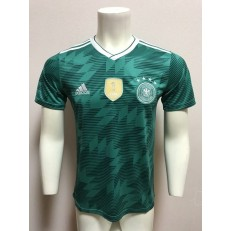 GERMANY AWAY 2018 FIFA WORLD CUP THAILAND SOCCER JERSEY