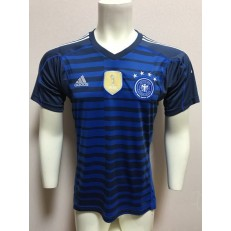 GERMANY GOALKEEPER 2018 FIFA WORLD CUP THAILAND SOCCER JERSEY