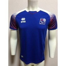 ICELAND HOME 2018 FIFA WORLD CUP THAILAND SOCCER JERSEY