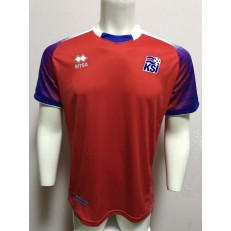 ICELAND RED GOALKEEPER 2018 FIFA WORLD CUP THAILAND SOCCER JERSEY