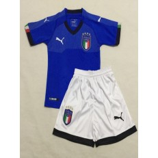 ITALY HOME YOUTH 2018 FIFA WORLD CUP THAILAND SOCCER JERSEY