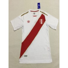 PERU HOME 2018 FIFA WORLD CUP THAILAND SOCCER JERSEY