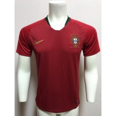 PORTUGAL HOME 2018 FIFA WORLD CUP THAILAND SOCCER JERSEY