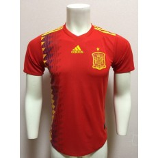 SPAIN HOME 2018 FIFA WORLD CUP PLAYER VERSION SOCCER JERSEY