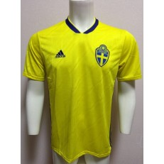 SWEDEN HOME 2018 FIFA WORLD CUP THAILAND SOCCER JERSEY