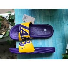 NIKE BENASSI SOLARSOFT NBA LOS ANGELES LAKERS 917551-700
