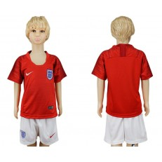 England Away Youth 2018 FIFA World Cup Soccer Jersey
