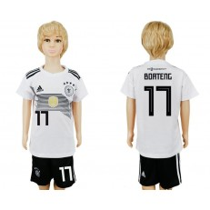 Germany 17 BOATENG Home Youth 2018 FIFA World Cup Soccer Jersey