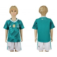 Germany Away 2018 FIFA World Cup Youth Soccer Jersey