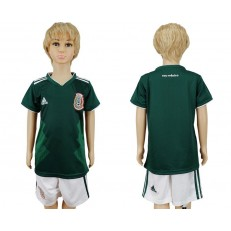Mexico Home Youth 2018 FIFA World Cup Soccer Jersey