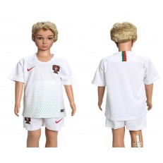 Portugal Away Youth 2018 FIFA World Cup Soccer Jersey