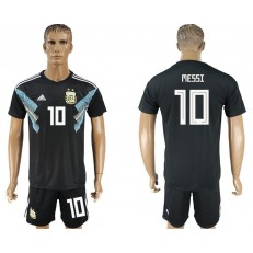 Argentina 10 MESSI Away 2018 FIFA World Cup Soccer Jersey