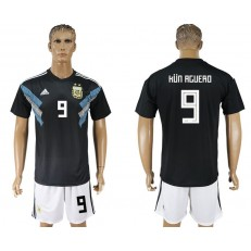 Argentina 9 ICARDI Away 2018 FIFA World Cup Soccer Jersey