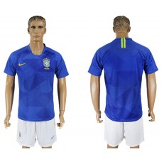 Brazil Away 2018 FIFA World Cup Soccer Jersey