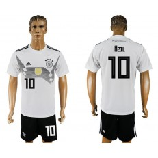 Germany 10 OZIL Home 2018 FIFA World Cup Soccer Jersey