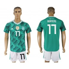 Germany 17 BOATENG Away 2018 FIFA World Cup Soccer Jersey