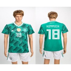 Germany 18 KIMMICH Away 2018 FIFA World Cup Soccer Jersey