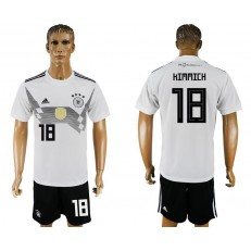 Germany 18 KIMMICH Home 2018 FIFA World Cup Soccer Jersey