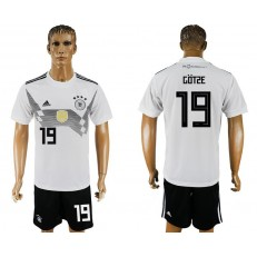 Germany 19 GOTZE Home 2018 FIFA World Cup Soccer Jersey