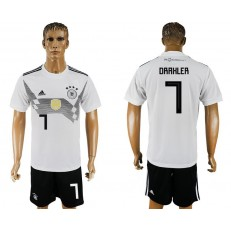 Germany 7 DRAXLER Home 2018 FIFA World Cup Soccer Jersey