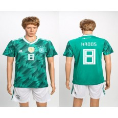 Germany 8 KROOS Away 2018 FIFA World Cup Soccer Jersey (2)
