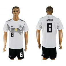 Germany 8 KROOS Home 2018 FIFA World Cup Soccer Jersey