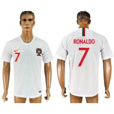 Portugal 7 RONALDO Away 2018 FIFA World Cup THAILAND Soccer Jersey