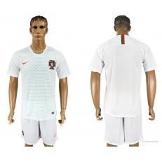 Portugal Away 2018 FIFA World Cup Soccer Jersey