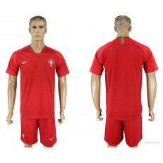 Portugal Home 2018 FIFA World Cup Soccer Jersey