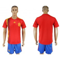 Spain Home 2018 FIFA World Cup Soccer Jersey