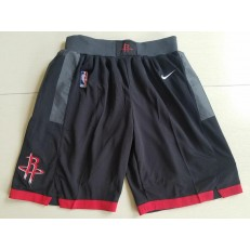 Houston Rockets Black Nike Swingman Shorts